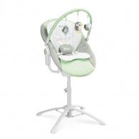 Detská jedálenská stolička 3v1 Caretero Kivi mint CARETERO