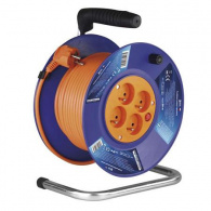 EMOS PVC prodlužovací kabel na bubnu - 4 zásuvky 30m  *P19430