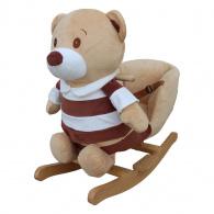 Hojdacia hračka s melódiou PlayTo medvedík pruhovaný PLAYTO