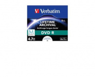 Verbatim M-Disc DVD R, Single Layer Single layer/Injekt printable, 4.7GB, jewel box, 43821, 1-pack