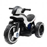 Detská elektrická motorka Baby Mix POLICE biela BABY MIX