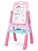 Obojstranná edukačná tabuľa Toyz pink TOYZ
