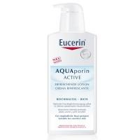 Hydratační tělové mléko pro suchou pokožku AQUAporin Active 400 ml Eucerin