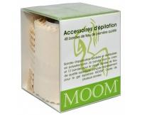 Epilační textilní proužky (Premium Fabric Strips) 48 ks Moom