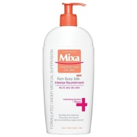 Intenzivní vyživující tělové mléko pro suchou pokožku 400 ml Mixa