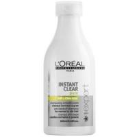 Očišťující šampon pro mastnou vlasovou pokožku s lupy Instant Clear Pure 250 ml Loreal Professionnel