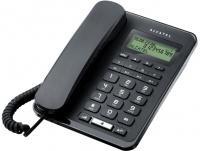 TEMPORIS-60 Alcatel - analogový telefonní přístroj s LCD displejem v černém provedení