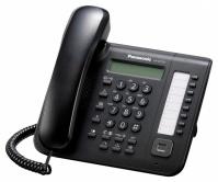 KX-DT521X-B Panasonic - digitální telefon s 1-řádkovým displejem, 8 programovatelných tlačítek, černý
