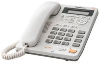 KX-TS620FXW Panasonic - jednolinkový tel., displej, digit. záznam, barva bíla