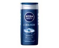 Sprchový gel pro muže Cool Kick 250 ml Nivea