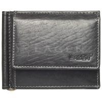 Pánská kožená peněženka dolarovka Black 1999/T Lagen
