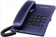 KX-TS500FXC Panasonic - jednolinkový telefon modrý