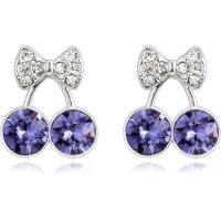 Vicca® Náušnice Purple Cherry OI_440226_purple