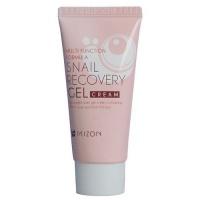 Pleťový gel s filtrátem hlemýždího sekretu 74% pro problematickou pleť (Snail Recovery Gel Cream) 45 ml Mizon