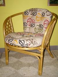 Sedák na křeslo BAHAMA - dvoudílný
