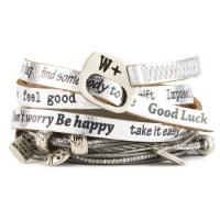 Wrap náramek Nice NI505 Argento We Positive