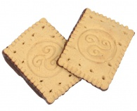 Good Nature Express Diet - máslové sušenky s čokoládovou polevou 28 g