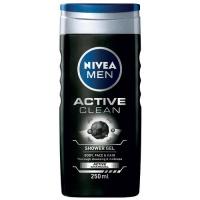 Sprchový gel pro muže Active Clean 250 ml Nivea