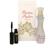 Christina Aguilera - Woman - parfémová voda s rozprašovačem 30 ml + Max Factor Mascara