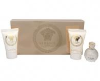 Versace - Eros Pour Femme - EDP 5 ml + sprchový gel 25 ml + tělové mléko 25 ml