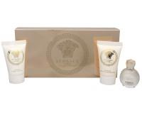 Versace - Eros Pour Femme - parfémová voda 5 ml + sprchový gel 25 ml + tělové mléko 25 ml