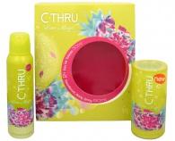 C-THRU - Lime Magic - toaletní voda s rozprašovačem 30 ml + deodorant ve spreji 150 ml