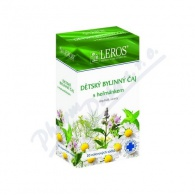 LEROS S.R.O., PRAHA 5 - ZBRASLAV LEROS Dětský bylinný čaj s heřmánkem 20x1.5g
