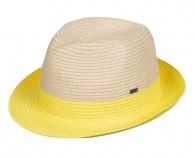 Slaměný klobouk Monoi Citrus ERJHA03049-YEC0 Roxy