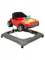 Detské chodítko Baby Mix autíčko červené BABY MIX