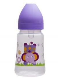 Fľaša so širokým hrdlom Akuku 250 ml fialová AKUKU