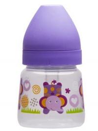 Fľaša so širokým hrdlom Akuku 125 ml fialová AKUKU