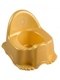 Hrajúci detský nočník Royal zlatý TEGA