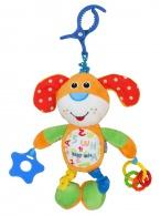 Detská plyšová hračka s vibráciou Baby Mix Psík BABY MIX