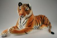 Plyš Tygr hnědý ohromný