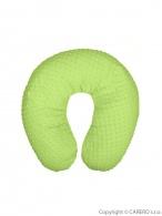 Univerzálny dojčenský vankúš z Minky Womar zelený WOMAR