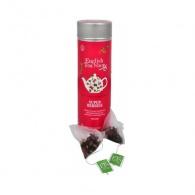 English Tea Shop Super ovocný čaj Rooibos a červené ovoce - plechovka s 15 bioodbouratelnými pyramidkami