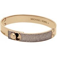 Michael Kors Zlatý pevný náramek s krystaly MKJ4902710
