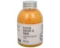 Relaxační koupelová sůl Vanilka (Original Dead Sea Bath Salt) 500 g Sefiros
