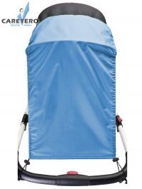 Slnečná clona na kočík CARETERO blue CARETERO