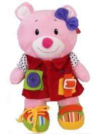 Edukačná plyšová hračka Baby Mix Amálka BABY MIX