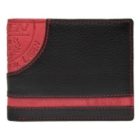 Pánská kožená peněženka Black&Red LG 1812 Lagen