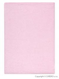 Nepremokavá podložka Akuku froté 70x50 - ružová AKUKU