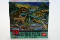 Puzzle Dinosauři 150 dílků 3D