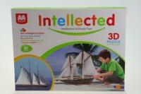 Stavebnice 3D Plachetnice - 80 dílků