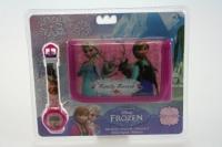 Hodinky + peněženka Frozen