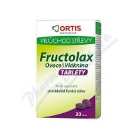 ORTIS Fructolax Ovoce&Vláknina TABLETY tbl.30