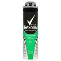 Antiperspirant ve spreji Men Motionsense Quantum Dry 150 ml Rexona
