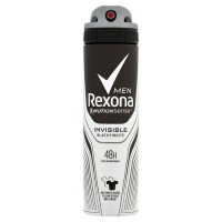 Antiperspirant ve spreji Men Motionsense Invisible Black+White 150 ml Rexona