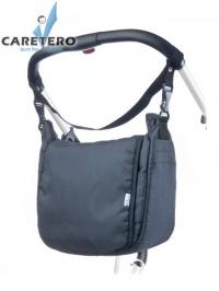 Taška na kočík CARETERO - graphit CARETERO