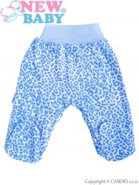 Dojčenské polodupačky New Baby Leopardík modré NEW BABY
